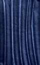 The dark blue velvet background as abstract Stock Photos