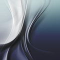 Dark blue wave background curve transparent lines on a surface Stock Photo