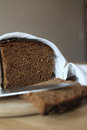 Dark bread  Stock Images