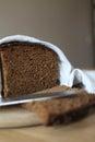 Dark bread  Stock Images