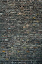 Dark brick wall background Royalty Free Stock Photo