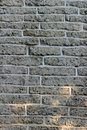 Dark Brick Wall For Background Texture Royalty Free Stock Photography