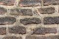 A dark brick wall background texture Royalty Free Stock Photo
