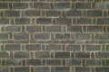 Dark brick wall in china Royalty Free Stock Photo
