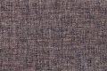 Dark brown background of dense woven bagging fabric, closeup. Structure of the textile macro. Royalty Free Stock Photo