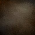 Dark brown background with grainy rough textured grunge border Royalty Free Stock Photo