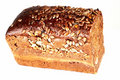 Dark brown bread Stock Image