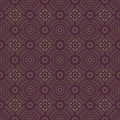 Dark brown colors round grid pattern korean traditional design series Stock Photos