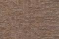 Light gray fluffy background of soft, fleecy cloth. Texture of plush furry textile, closeup.