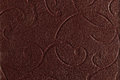 Dark brown leather texture Stock Images