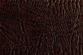 Dark brown leather texture Stock Photos