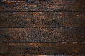 Dark brown rustic  aged barn wood planks background Royalty Free Stock Photo