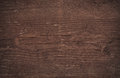 Dark brown scratched wooden cutting board wall texture Royalty Free Stock Photo