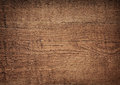 Dark brown scratched wooden cutting board wood texture Stock Photos