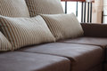 Dark brown sofa Royalty Free Stock Photo