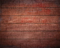 Dark brown wooden planks, tabletop, floor surface. Royalty Free Stock Photo
