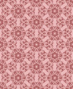 Dark burgundy pattern on a pink background seamless Stock Photo