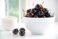 Dark cherries Royalty Free Stock Photo