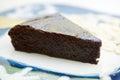 Dark Chocolate Cake Royalty Free Stock Photo