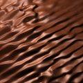 Dark chocolate flow Royalty Free Stock Photo