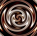 Dark Chocolate Swirl Royalty Free Stock Photo