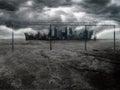 Dark City 2 Royalty Free Stock Photo