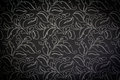 Dark damask seamless floral pattern background vintage Stock Photos
