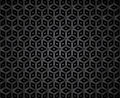 Dark diamond shape mosaic pattern illustrated background of shapes Royalty Free Stock Image