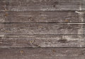 Dark dirty old boards of wood Royalty Free Stock Photo