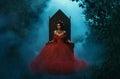 Dark evil queen