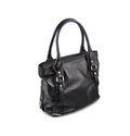Dark female bag-4 Stock Image