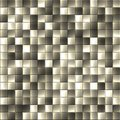 Dark glass blocks seamless texture Royalty Free Stock Photos