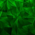 Dark green background beautiful mosaic abstract Royalty Free Stock Photography