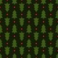 Dark green Christmas fir tree seamless pattern