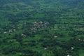 Dark green landscape of a Satara village Royalty Free Stock Photo