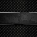 Dark grunge metal backgrounds. Vector illustration