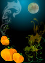 Dark Halloween background Stock Photos