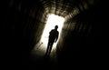 Dark Hallway Royalty Free Stock Photo