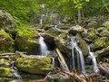 Dark hollow falls shenandoah national park virginia usa Stock Images