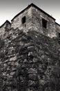 Dark house Zdjęcie Royalty Free