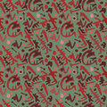Dark intricate ethnic seamless pattern Stock Images