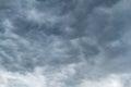 Dark Mammatus Clouds Royalty Free Stock Photo