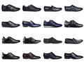 Dark men's shoes-2 Stock Photography