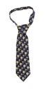 Dark men's tie Royalty Free Stock Photo