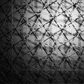 Dark Metallic Square Industrial Design Background