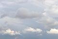 Dark, ominous rain clouds. Royalty Free Stock Photo