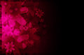 Dark pink floral abstract background. Royalty Free Stock Image