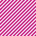 Dark pink and white diagonal stripes seamless pattern