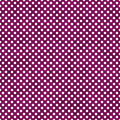 Dark Pink and White Small Polka Dots Pattern Repeat Background Royalty Free Stock Photo
