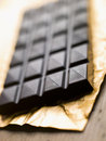Dark, Plain, Chocolate Stock Images